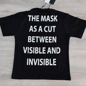 Gucci Shirts - Gucci Mask Print Black Short Sleeve Cotton T-Shirt